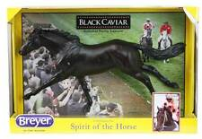 BREYER BLACK CAVIAR HORSE MODEL!! HIGHLY COLLECTABLE WITH ORIGINAL PACKAGING