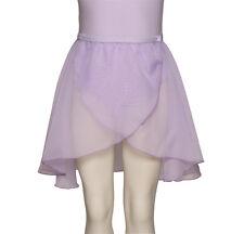 Girls Lilac RAD Long Georgette Dance Ballet Skirt All Sizes By Katz KDGR03