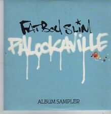 (BZ998) Fat Boy Slim, Palookaville Sampler - 2004 DJ CD