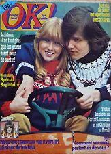 OK! 1977: GERARD LENORMAN_GILBERT BECAUD_JAÏRO_MARIA DE ROSSI