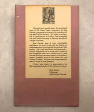 RARE  Asa Packer : A Perspective by W. Ross Yates (1983, Privately Printed HC)