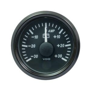 VDO SingleViu 0247 Amperemeter 30A 60 MV 52mm -2 1/16' Schwarz A2C3833090001