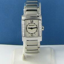 Montblanc 35740 Profile Diamond Bezel 0.45cts MOP Watch EIF Edition RARE! $4600