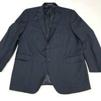 Peter Millar Blazer Suit Jacket Men's 46T Long Sleeve Navy Two-Button Front Wool