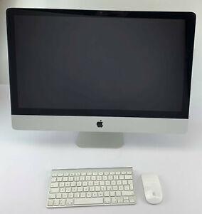 """Apple iMac 27"""" 12.2 - SSD + HDD - 16GB RAM - Intel Core i7 - Maus & Tastatur"""