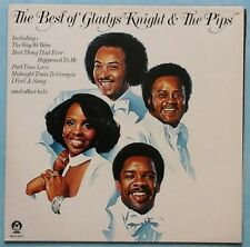 Gladys Knight & THE pips ~ BEST OF... ~ 1976 UK 11-TRACK LP DISCO + G/FOLD