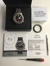 Excellent Sinn U1 Full Kit With Box , AD Warranty Card and Extra SDR Bezel