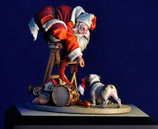ANDREA MINIATURES WY-12 - A WONDERFUL WORLD SANTA'S DISGUISE - 54mm WHITE METAL