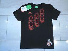 1. FC Köln Fan T-Shirt schwarz Sport neu Gr. 140