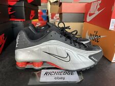 Nike Shox R4 Black Silver Size 11.5 Worn Once 100% Authentic
