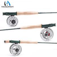 Maxcatch Fly Fishing Rod And Reel Combo #3/4/5/6/7/8 WT Fly Rod + ECO Fly Reel