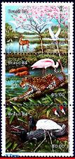 1922 Brazil 1984 Pantanal, Alligator, Jaguar, Deer, Birds, Flowers, Fauna, Mnh