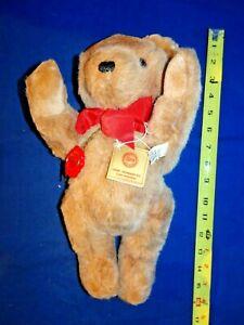 """Hermann Fully Jointed Teddy Bear  12""""+ Tall"""