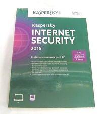 Kaspersky Internet Security 2015 1 PC - in italiano