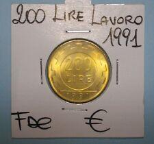 200 LIRE LAVORO 1991 FDC LAVORO (1) DA ROTOLINO SIGILLATA OBLO' COMPRA SUBITO