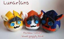 Puff Puggle Puggleformers Lunarians Rung Hand-Made Plush Toy Puff Puggles