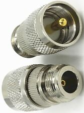 UHF N type female to PL259 male adapter N type F to UHF M