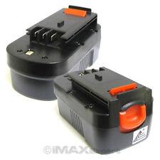 2x 18V Slide 2.0AH 2000mAh Ni-Cd Battery for Black & Decker Firestorm Power Tool