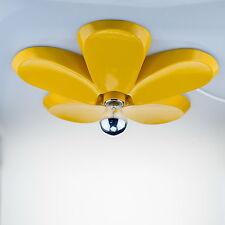 Summer Deckenleuchte Blütenform gelb Retro Deckenlampe für Bistro & Restaurant