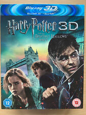 Harry Potter And The Deathly Hallows Part 1 3D Blu-ray w/ Lenticular Slipcover