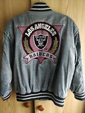 LA Raiders Embroidered Jacket - Vintage 1990's