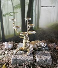 POTTERY BARN STAG VOTIVE HOLDER (SITTING) -NIB- BLAH CAN'T HOLD A CANDLE TO THIS