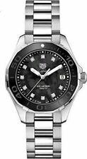 Tag Heuer Aquaracer Black MOP Diamond Dial Ladies Watch WAY131M.BA0748