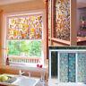 Vitre Porte Fenêtre Coloré Auto-Adhésif Film Autocollant PVC Sallede Bain Maison