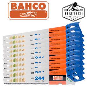 "10 X BAHCO 22""/550mm BARRACUDA 244+ Hardpoint 7TPI Wood/Timber Cutting Hand Saw"
