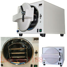 18L Dental Lab Equipment Autoclave Pressure Steam Sterilizer sterilization +Tray