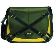 """New SAMSONITE Protea Laptop Protecting Business MESSENGER Shoulder Bag 15"""" Green"""