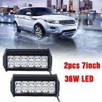 2x36W Car 12 LED Spot Lights Spotlight Lamp Van ATV Offroad SUV Truck Foglights