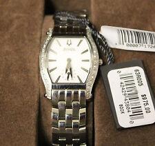 Bulova Accutron Women's 63R005 Sapphire Crystal Swiss Made SS Watch, NIB w/ Tag