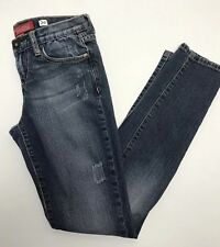 Guess Jeans Stretch Denim Distressed Dark Wash Women's Size 26