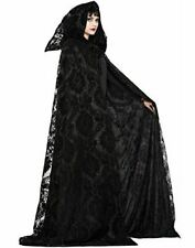 Witch/Wizard Midnight Cloak - Black - Costume Accessory - Adult