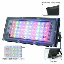 LED Floodlight Outdoor RGB Spotlight With Remote Control Waterproof IP65 Lamp