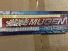 SALE- 3D chrome BADGE FOR MUGEN RACING FOR HONDA CIVIC INTEGRA ACCORD DC2 DC5 FD