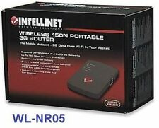 Wireless 150N 3G Portable Router, Intellinet 524803
