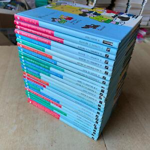 lot 25 livres Nathan - Série Première Lune / 5-7 ans - lecture avec images