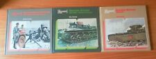 ALMARK THE MECHANICS OF WAR SERIES LOTx3 GERMAN / RUSSIAN ARMOUR & GROUND FORCES
