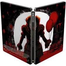 IT Chapter 2  Steelbook 4K UHD+Blu Ray / REGION FREE/ HDR 10+ WORLDWIDE SHIPPING