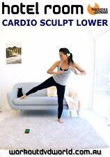 Cardio Toning HII DVD - Barlates Body Blitz HOTEL ROOM CARDIO SCULPT LOWER!