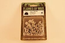 "15mm Vietnam USA 4.2"" MORTAR PLATOON Flames War USA Cold 1:100 VUS717 Americans"