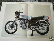 A005-POSTER HONDA CBX1000 SIXCYLINDER ZESCYLINDER 1978 MODEL CBX 1000 SIX