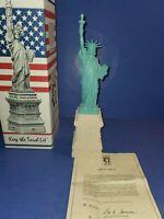 "Statue of Liberty Centennial 15"" Scaled Replica Lady Liberty, Alva-Barrett Colea"