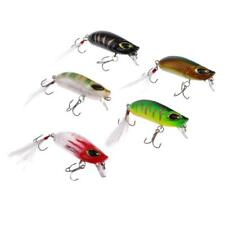 5x Hard Popper Topwater Floating Fishing Lures Surface Water Baits