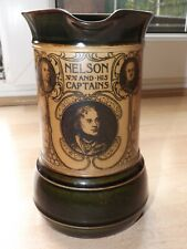 Extremely Rare Royal Doulton Commemorative Nelson & His Captains Jug c1905