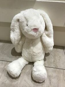 Marks & And Spencer Large Cream Bunny Rabbit Plush Comforter M&S 09442689 lapin