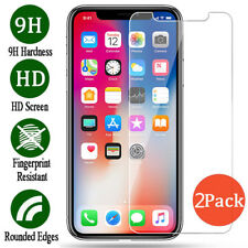For Apple iPhone XS/ XR/ XS Max Premium Tempered Glass Screen Protector Film 2X