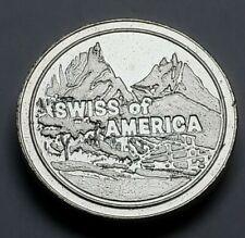 Swiss of America Rolo Style 1 oz Silver Round .999 Fine